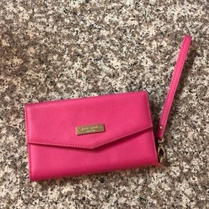Kate spade wristlet with phone holder!